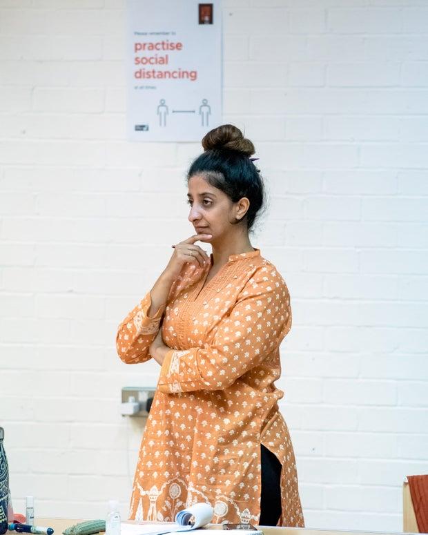 Photo of Sameena Hussain, Leeds Playhouse's Regional Theatre Young Director