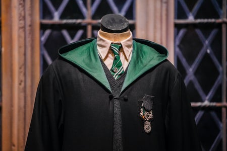 Slytherin, harry potter, robe with tie