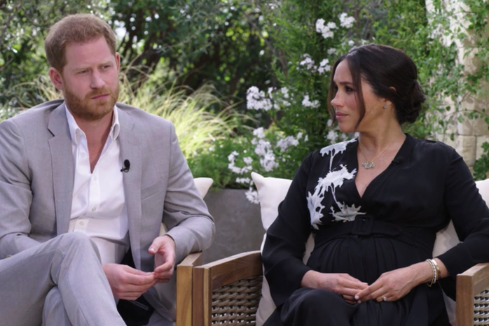 Prince Harry and Meghan Markle Oprah Interview