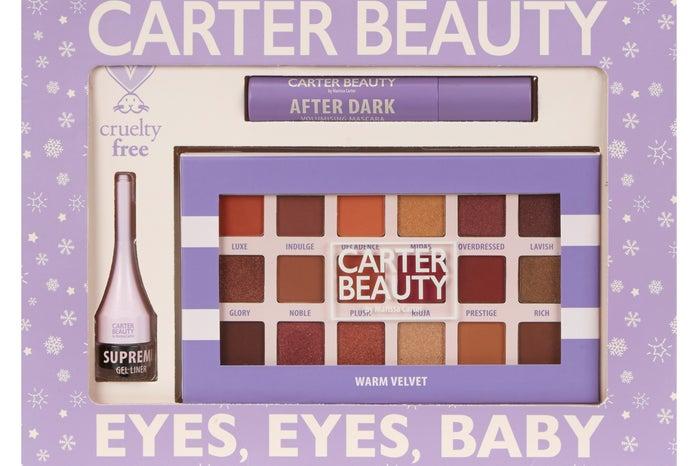 Eyeshadow palette and eyeliner set from irish beauty brand