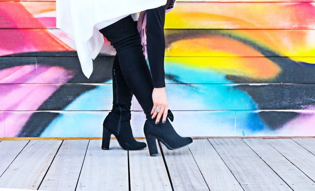 fall fashion knee high boots