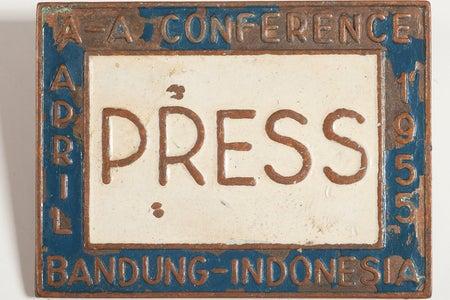 Journalist Ethel Payne's Press Pin