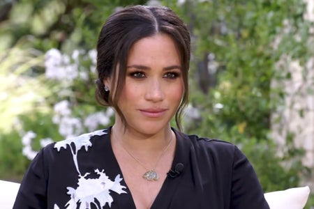 Meghan Markle in Oprah Interview