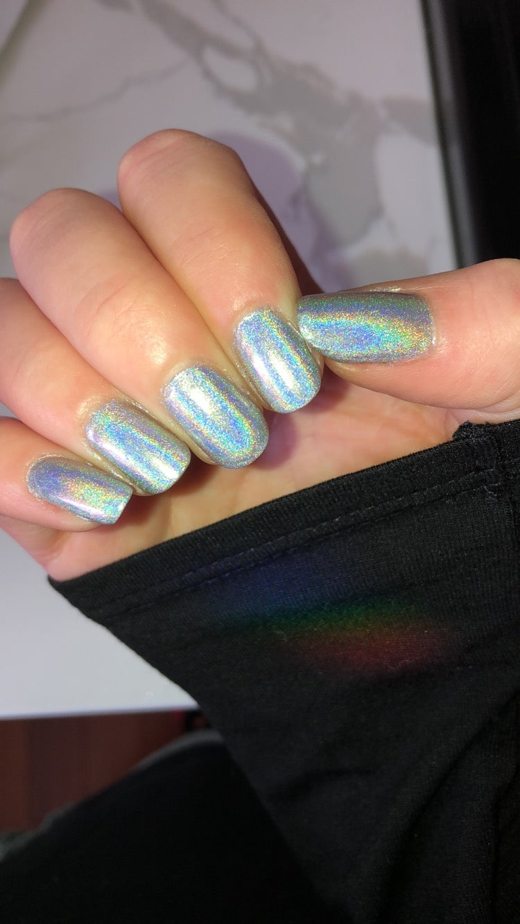 special effects nail polish manicure