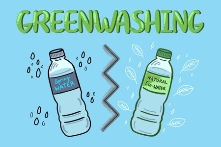 greenwashing infographic