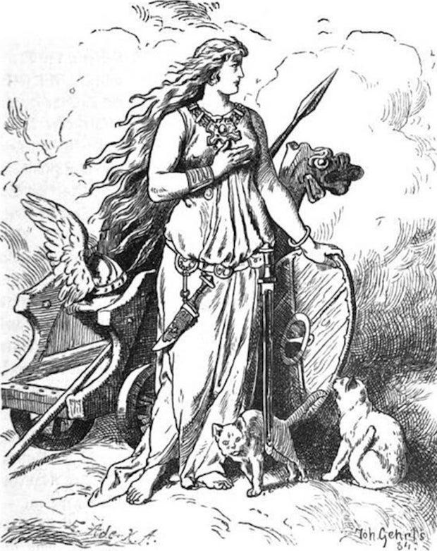 Norse Goddess Freyja