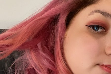 Picture of my pink hair