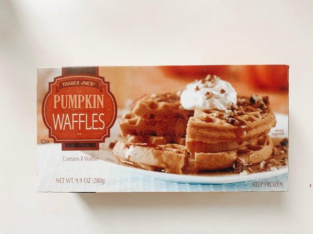 trader joes pumpkin waffles