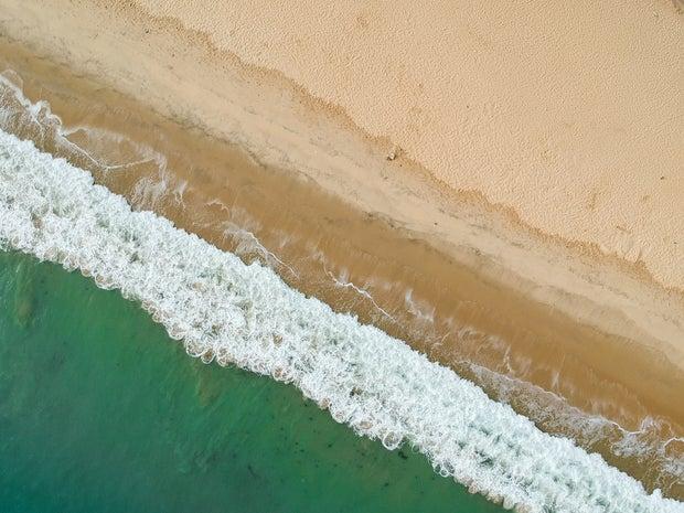 aerial photo of seashore during daytime photo in Fortaleza, Brazil