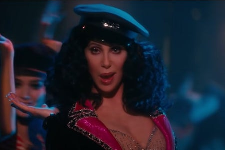 """Cher, the singer, from a close up look on the movie """"Burlesque"""""""