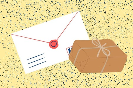 letters and packages