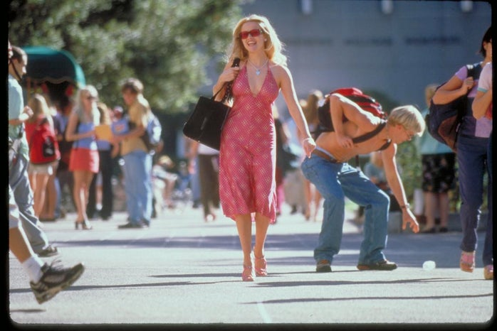Elle Woods in the movie Legally Blonde