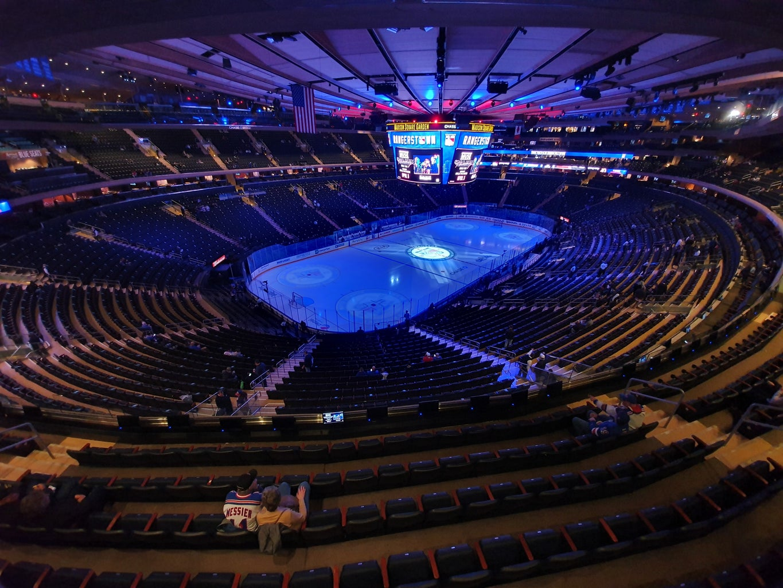 Empty Hockey Arena