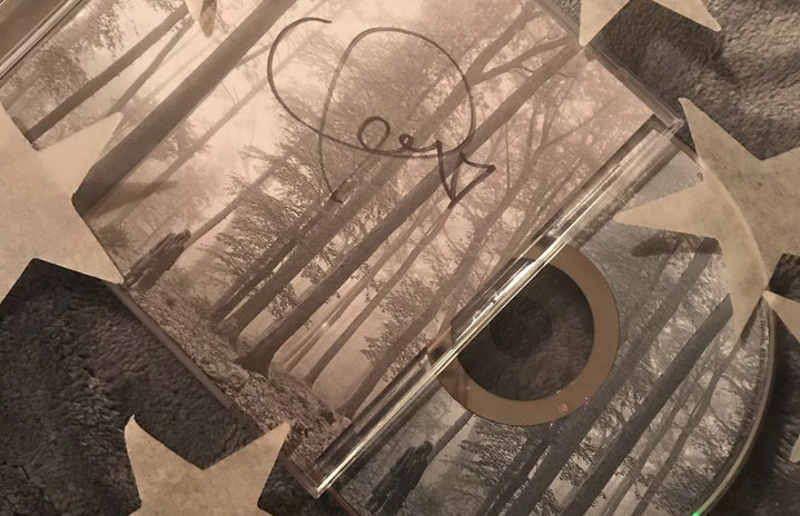 folklore by Taylor Swift signed
