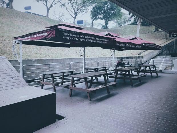 NTU outdoor seating