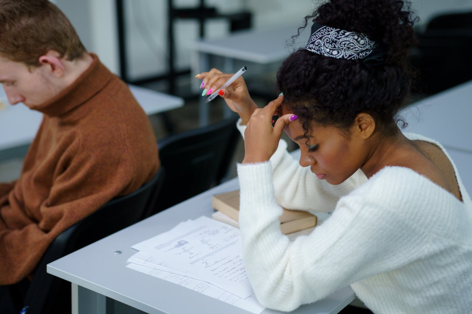 stress in college classroom