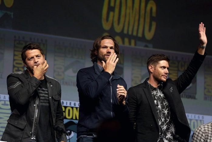 Jensen, Jared, Misha - SDCC