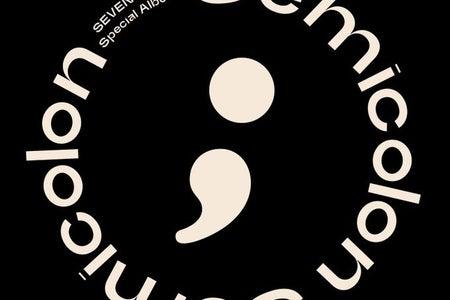 Album cover for SEVENTEEN - ; [Semicolon]