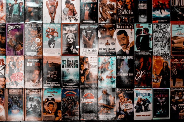 collection of movie posters