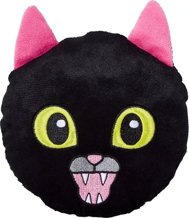black cat dog toy