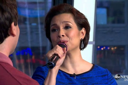 "Thumbnail for Lea Salonga and Brad Kane's Good Morning America performance of ""A Whole New World"""
