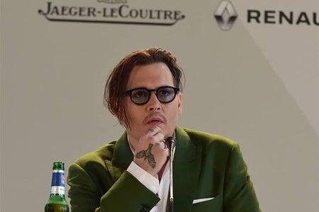 Johnny Depp on panel