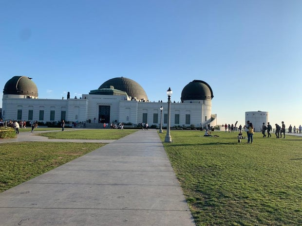 Photo of Gryffith Observatory