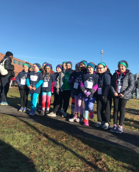 participants in girls on the run