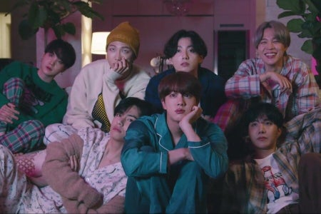 """BTS's """"Life Goes on"""" music video."""