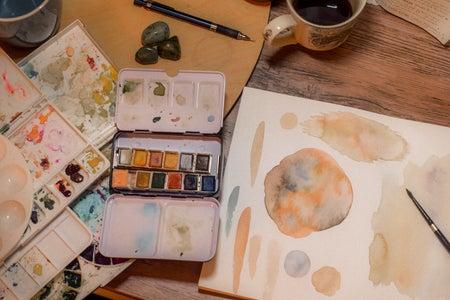 painting pallete