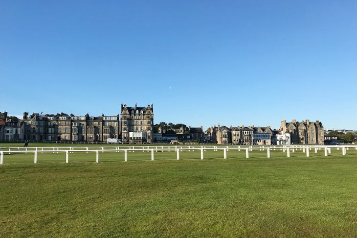 18th hole of The Old Course, St Andrews