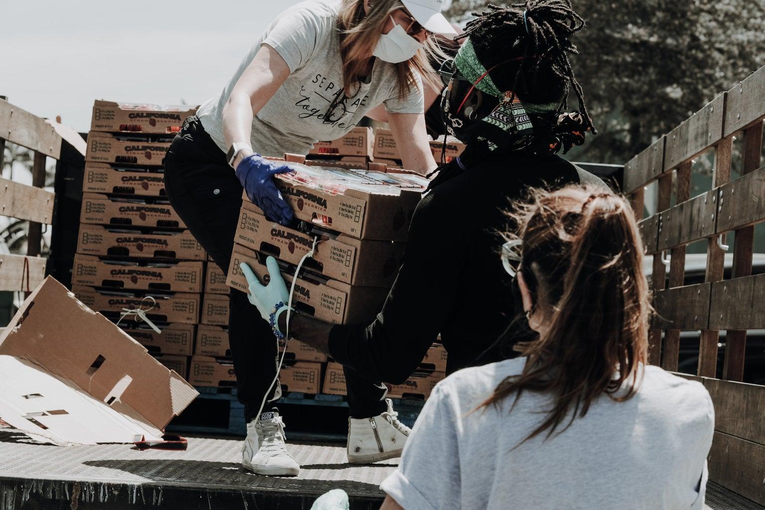 Volunteering help