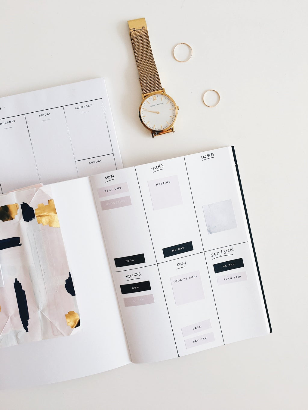 Image of a planner
