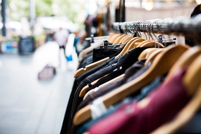 Thrift clothes