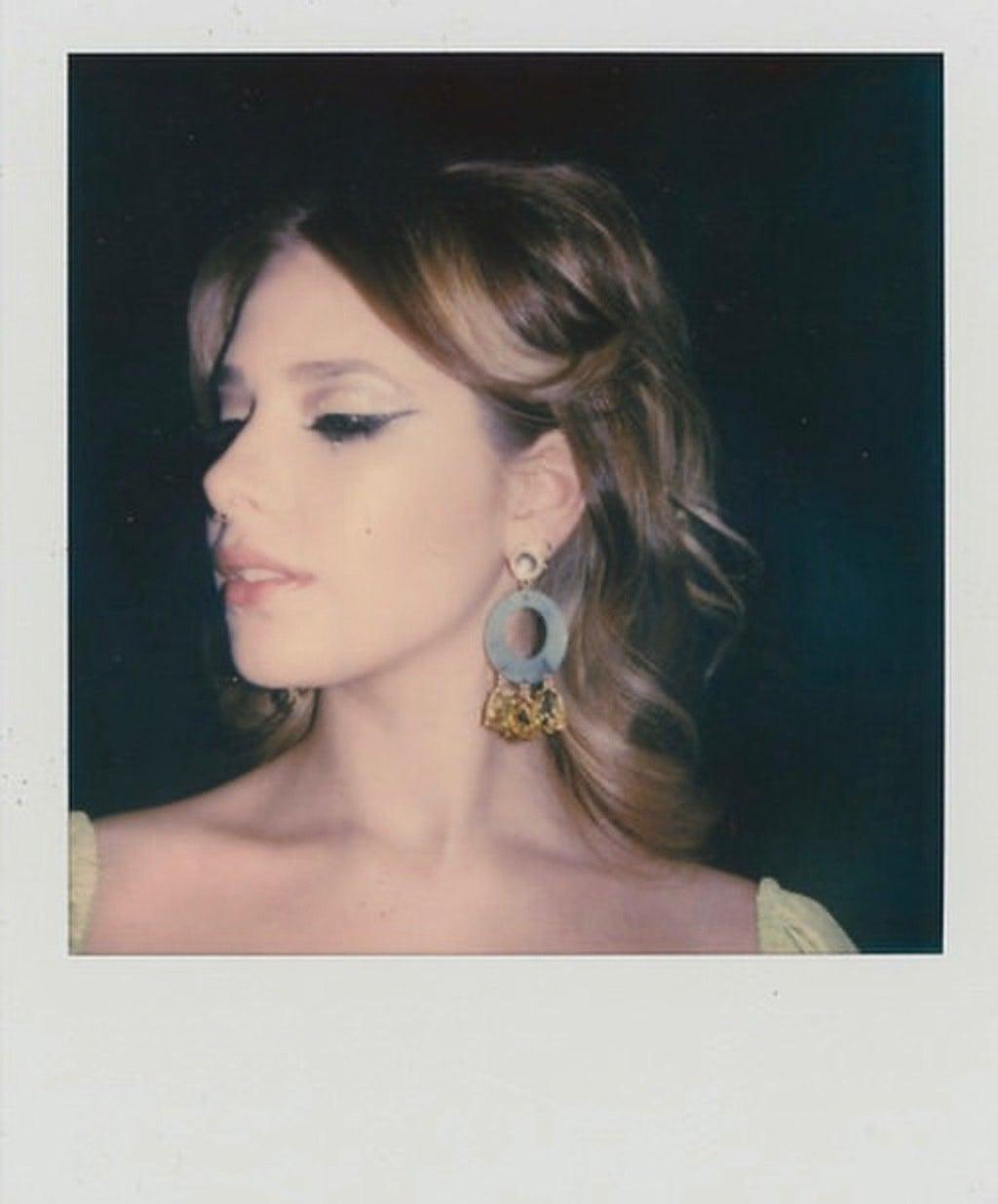 Silver Sphere Polaroid 1 by Jess Farren