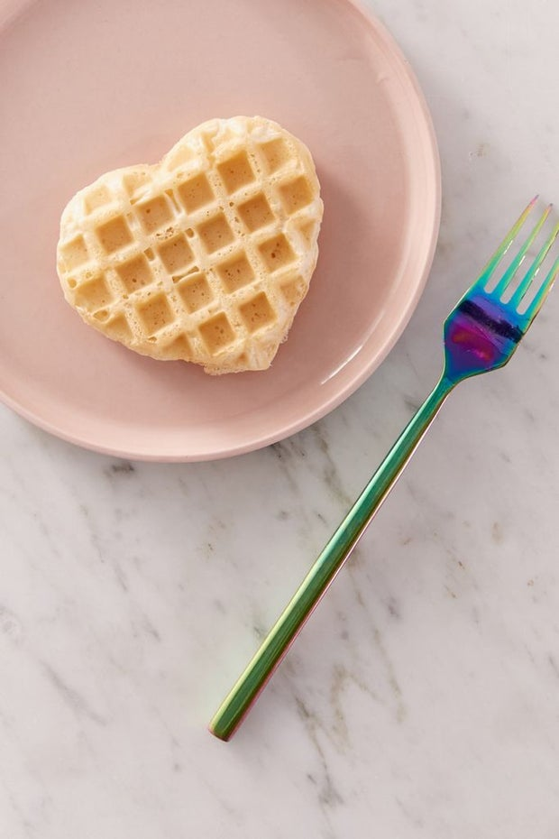 heart-shaped mini waffle maker