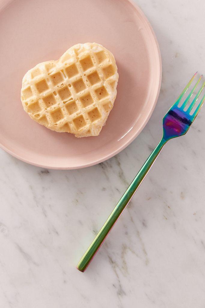 heart-shaped mini waffle maker